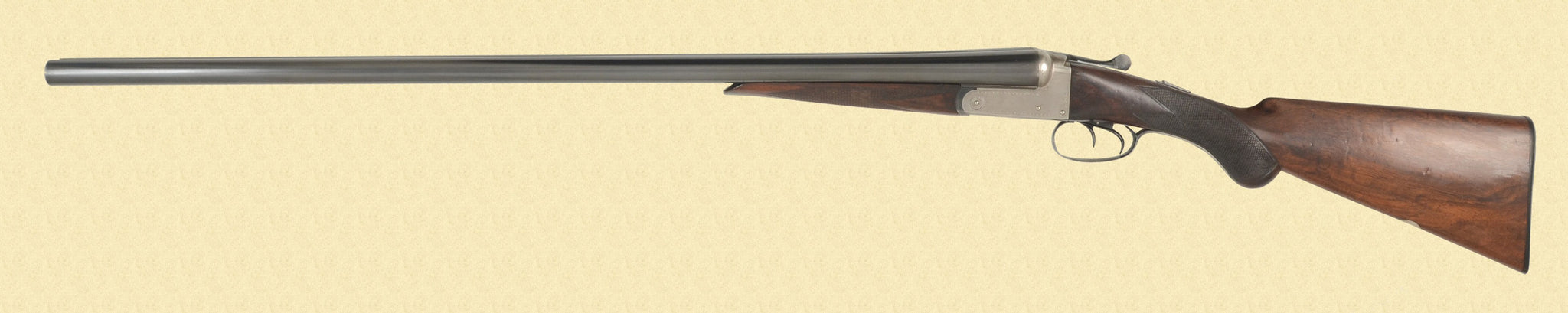 FRED WILLIAMS DOUBLE BARREL SHOTGUN
