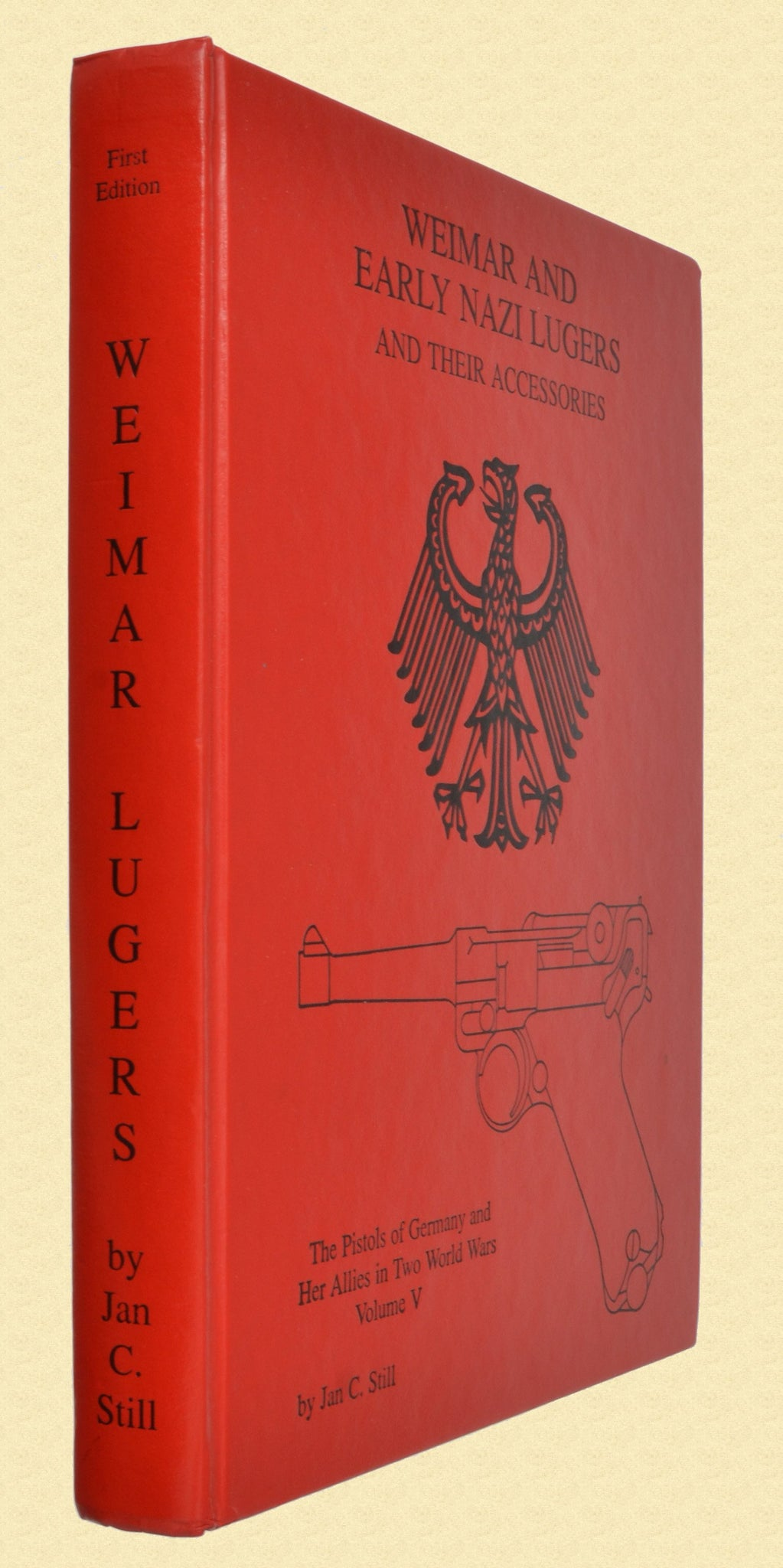 BOOK WEIMAR AND EARLY NAZI LUGERS