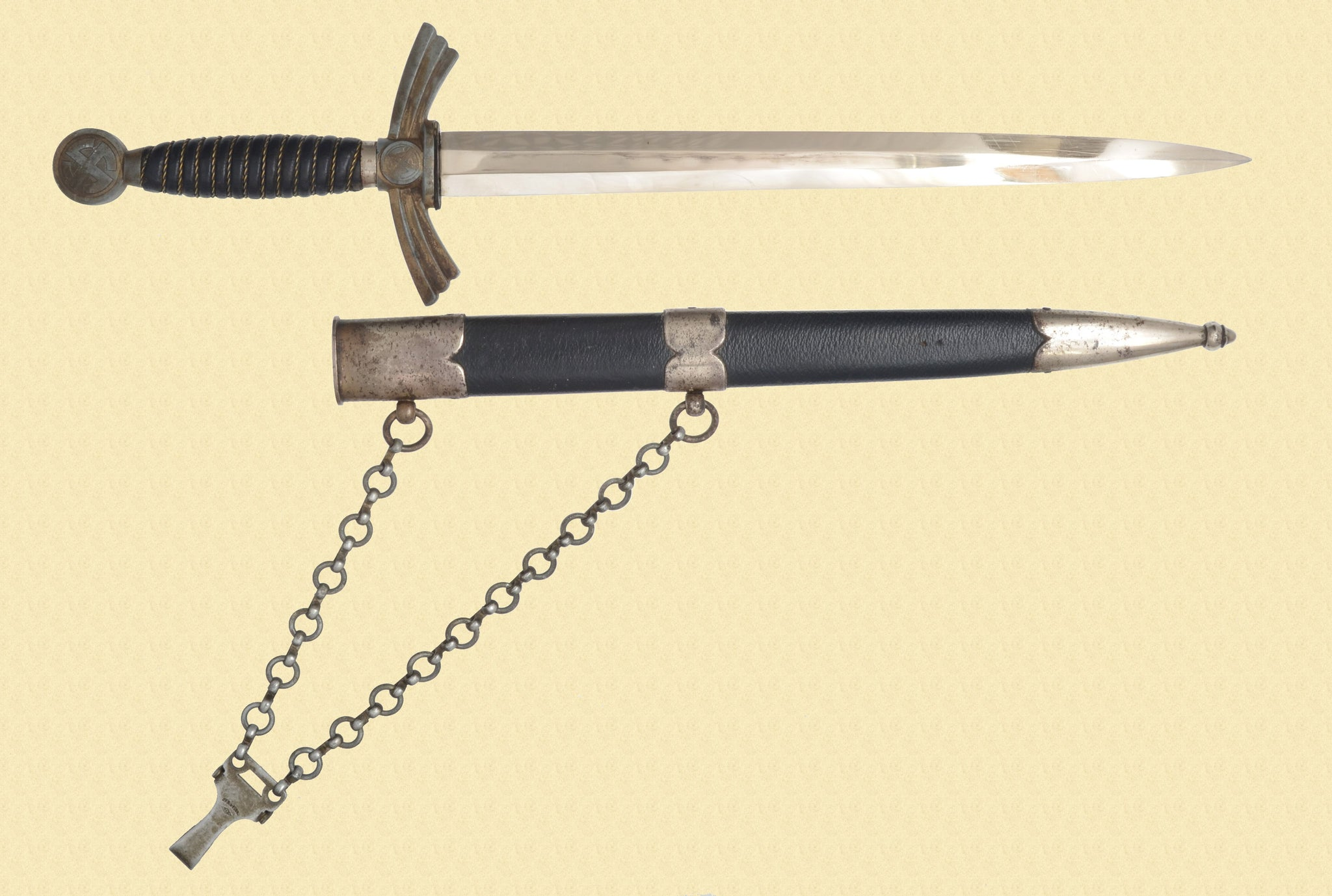 GERMANY LUFT 1ST MODEL DAGGER W/CHAIN