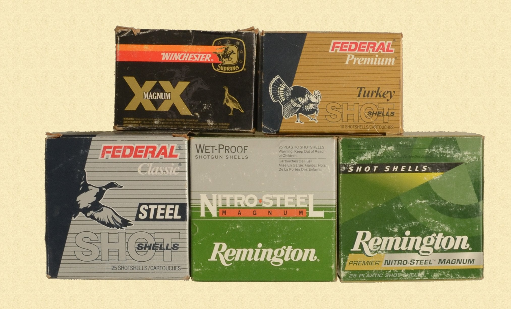 VARIOUS AMMUNITION 10 GA MAG
