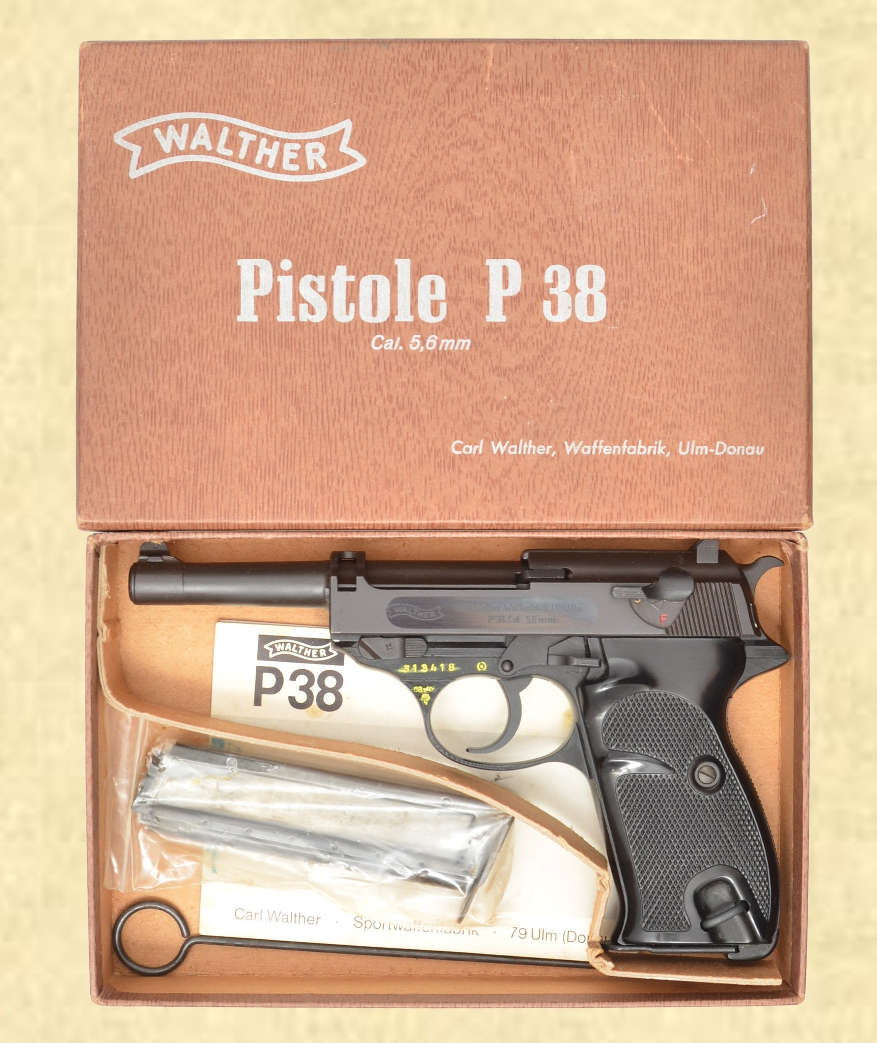WALTHER P38 POST WAR