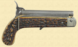 FRENCH PINFIRE KNIFE PISTOL