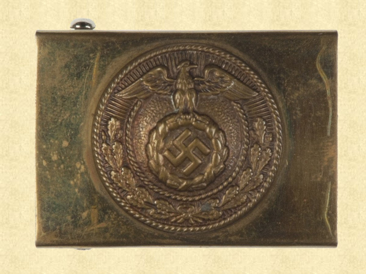GERMAN BELT BUCKLE