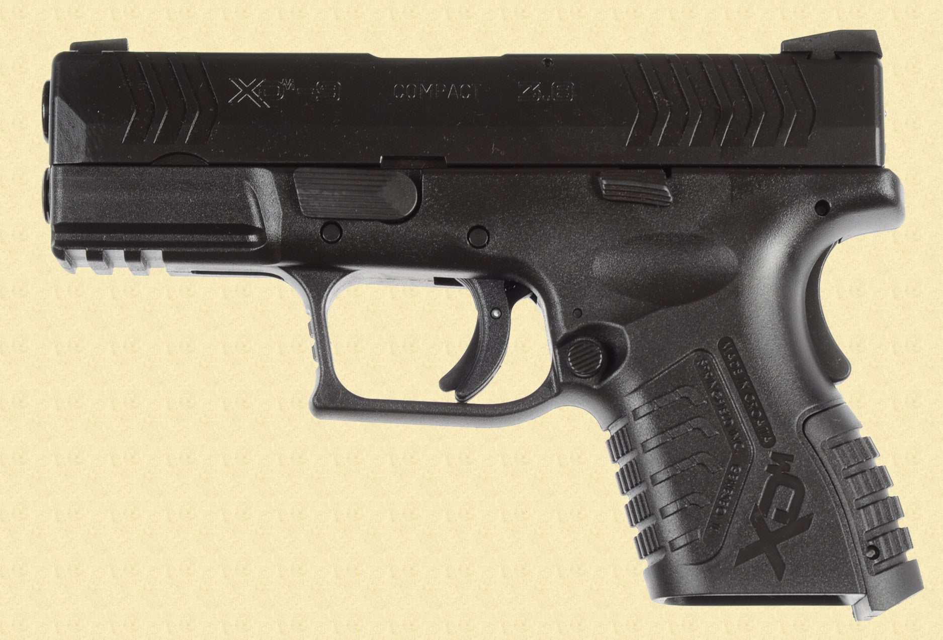SPRINGFIELD ARMORY XDM-9 COMPACT 3.8