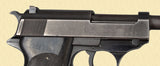 WALTHER P.38 PORTUGUESE CONTRACT