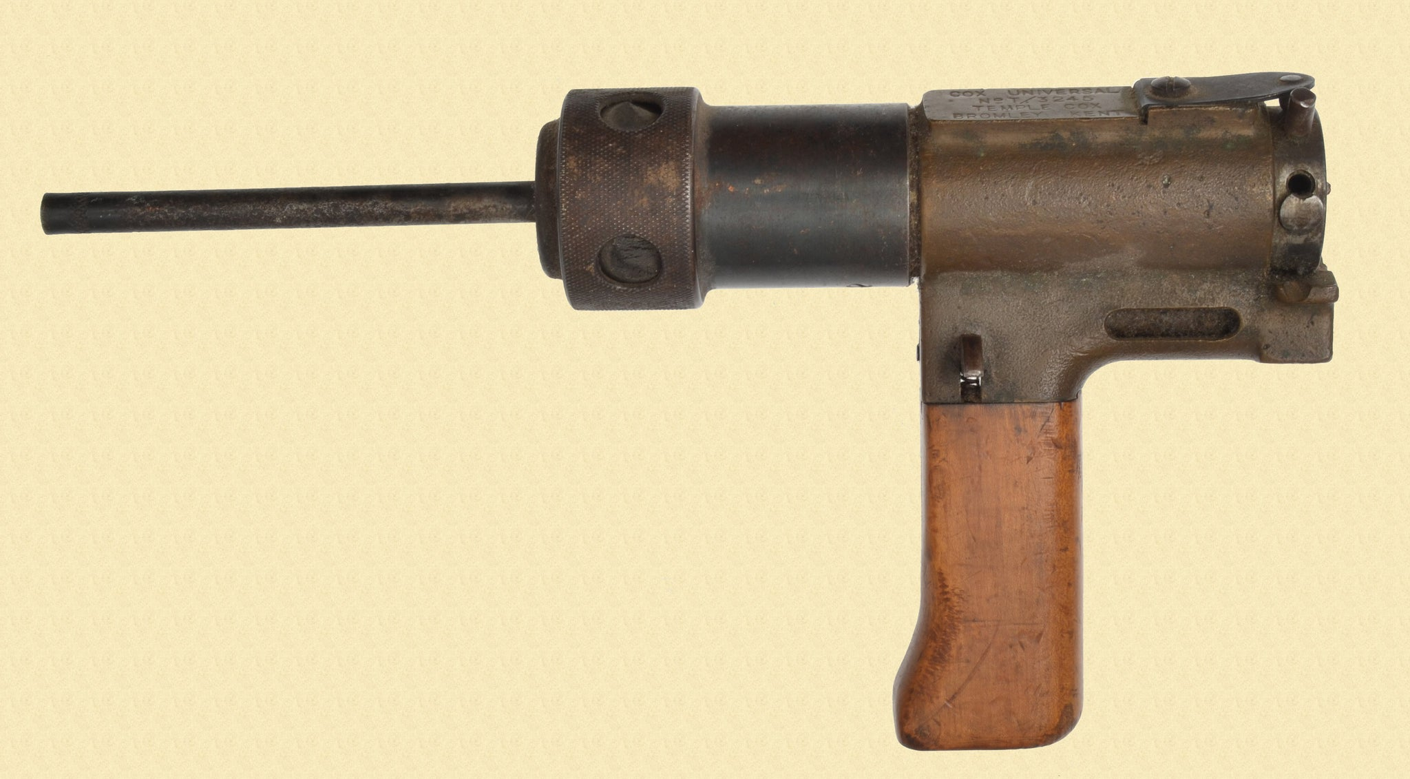 TEMPLE COX CAPTIVE BOLT PISTOL