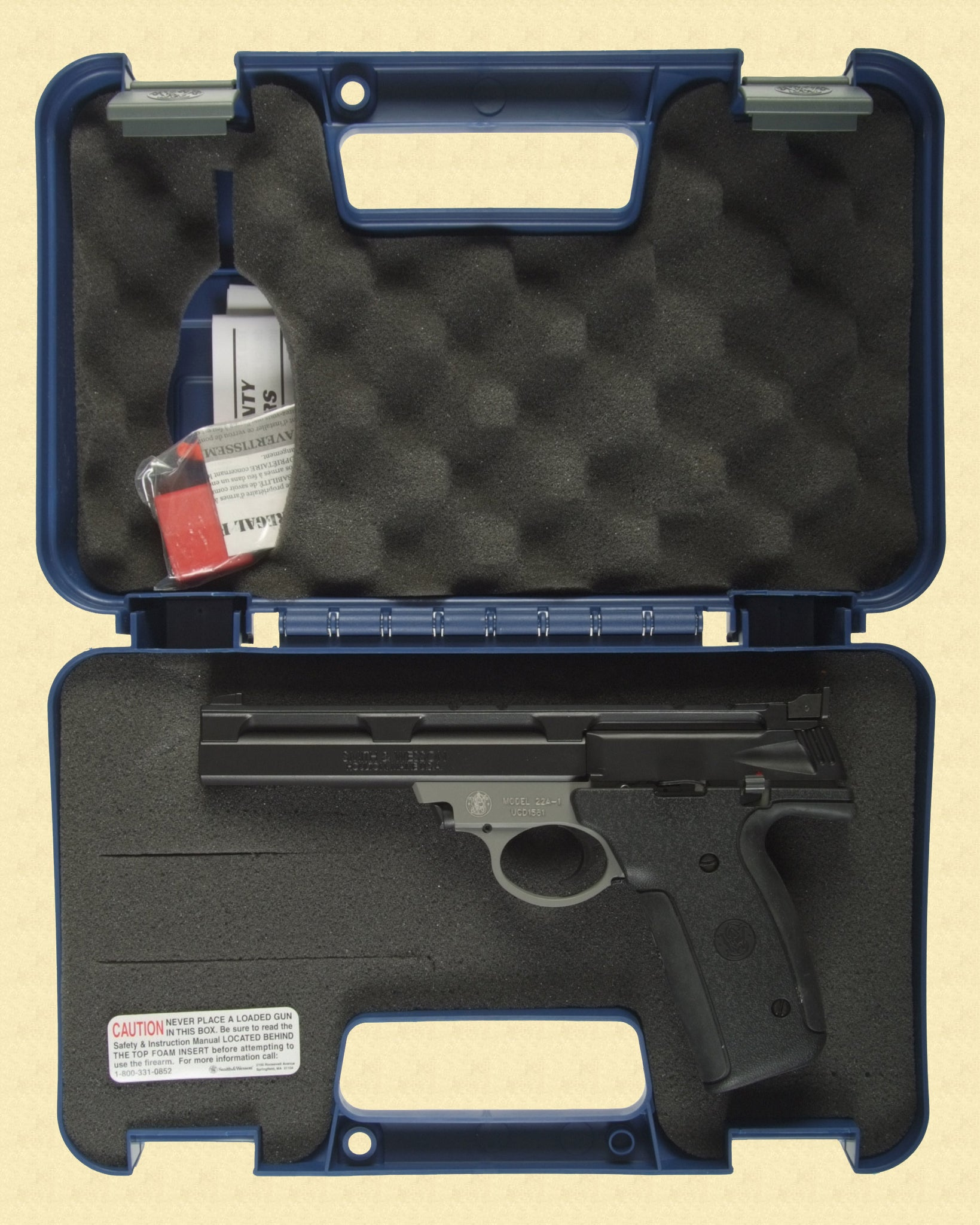 SMITH & WESSON MODEL 22A-1