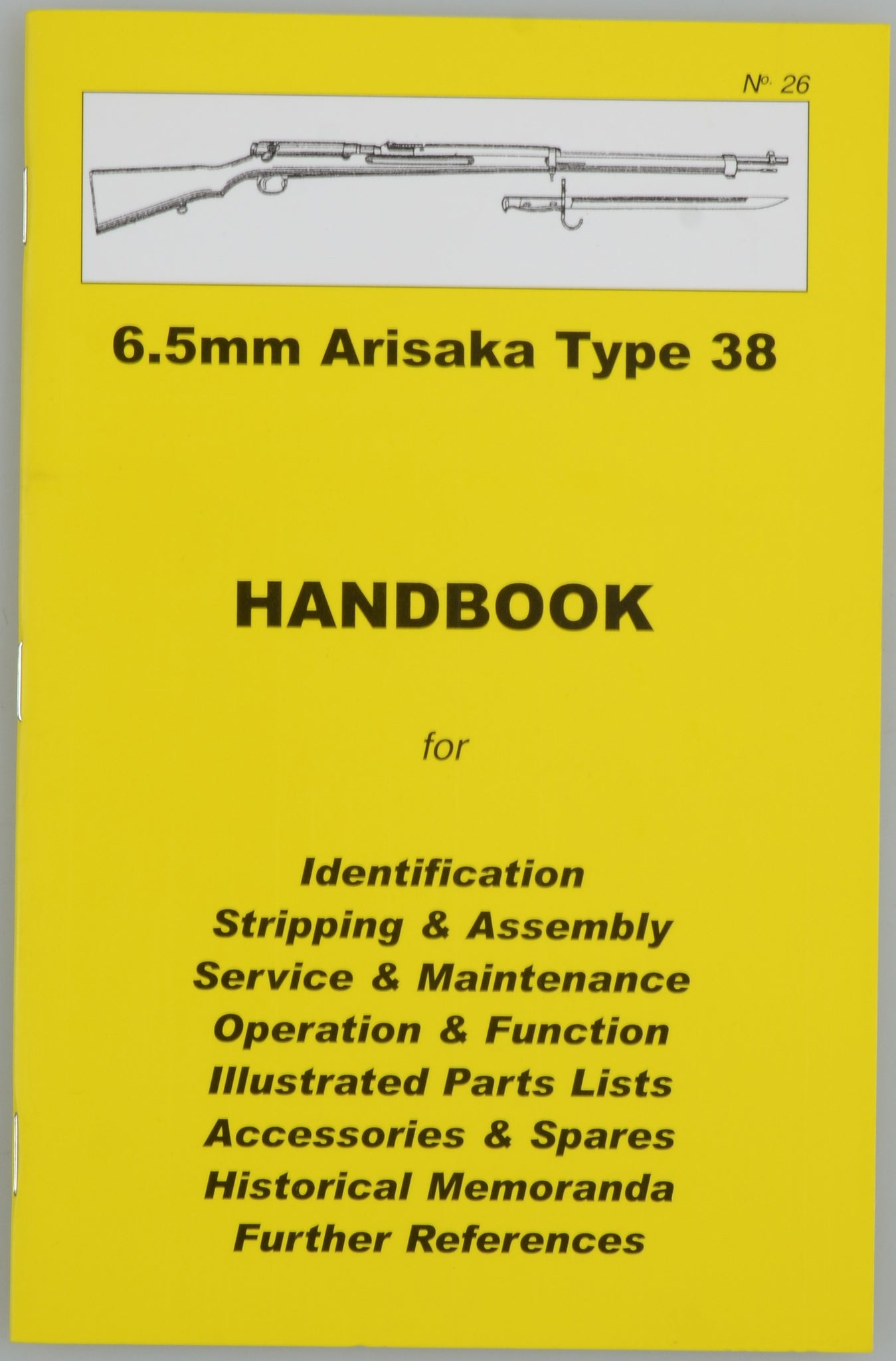 6.5mm Arisaka Type 38 HANDBOOK