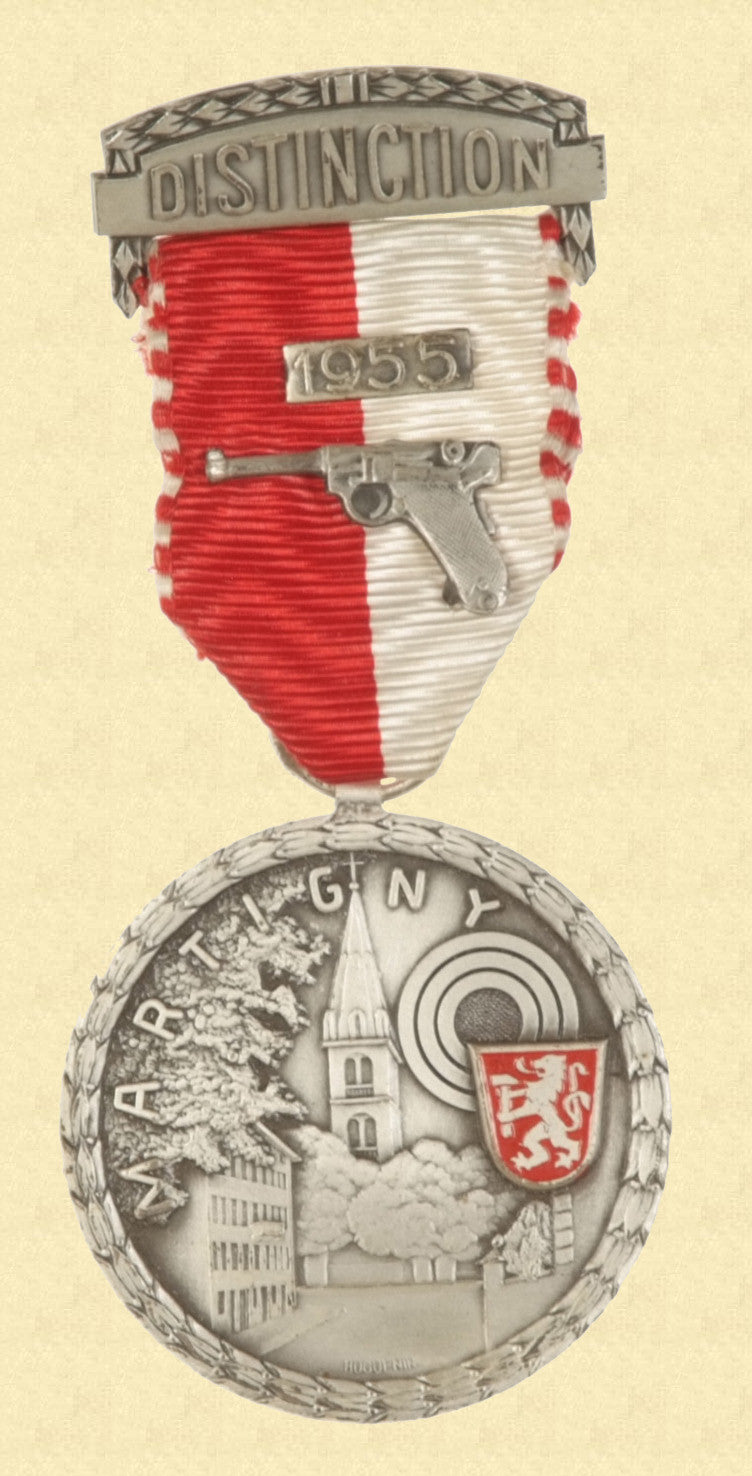 SWISS SHOOTING MEDAL