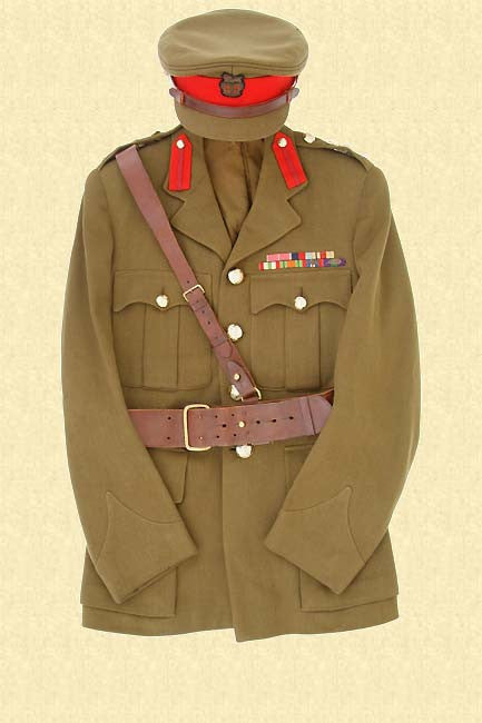 BRITISH OFFICERS UNIFORM