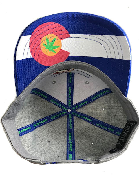Green Dragon Flag Hat