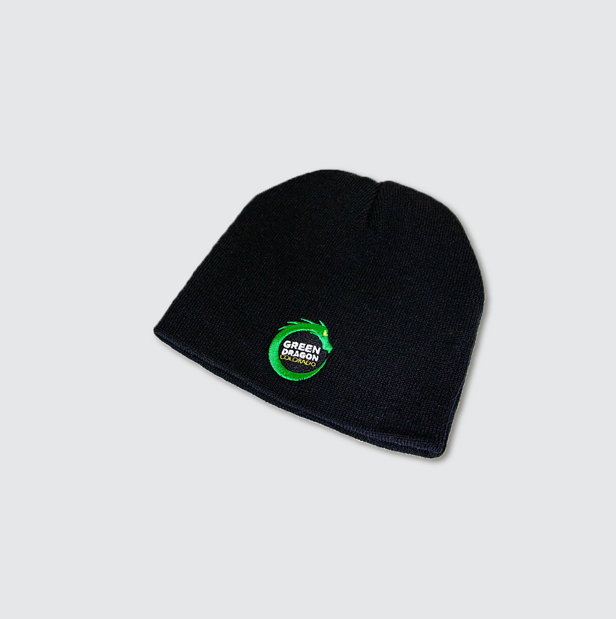 Black Fitted Beanie