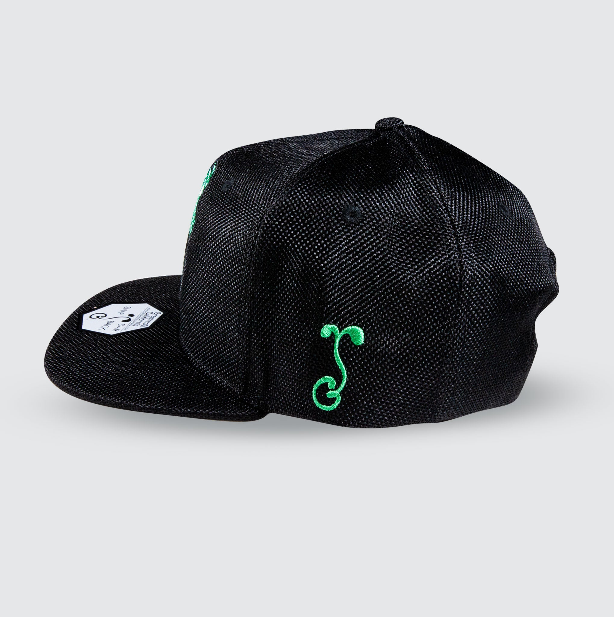 Green Dragon Grassroots Collaboration Snapback Hat