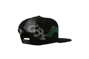 Dragon Smoke Mesh Trucker Hat