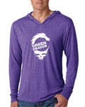 Steal Your Face - Lightweight Hoodie - Purple Rush