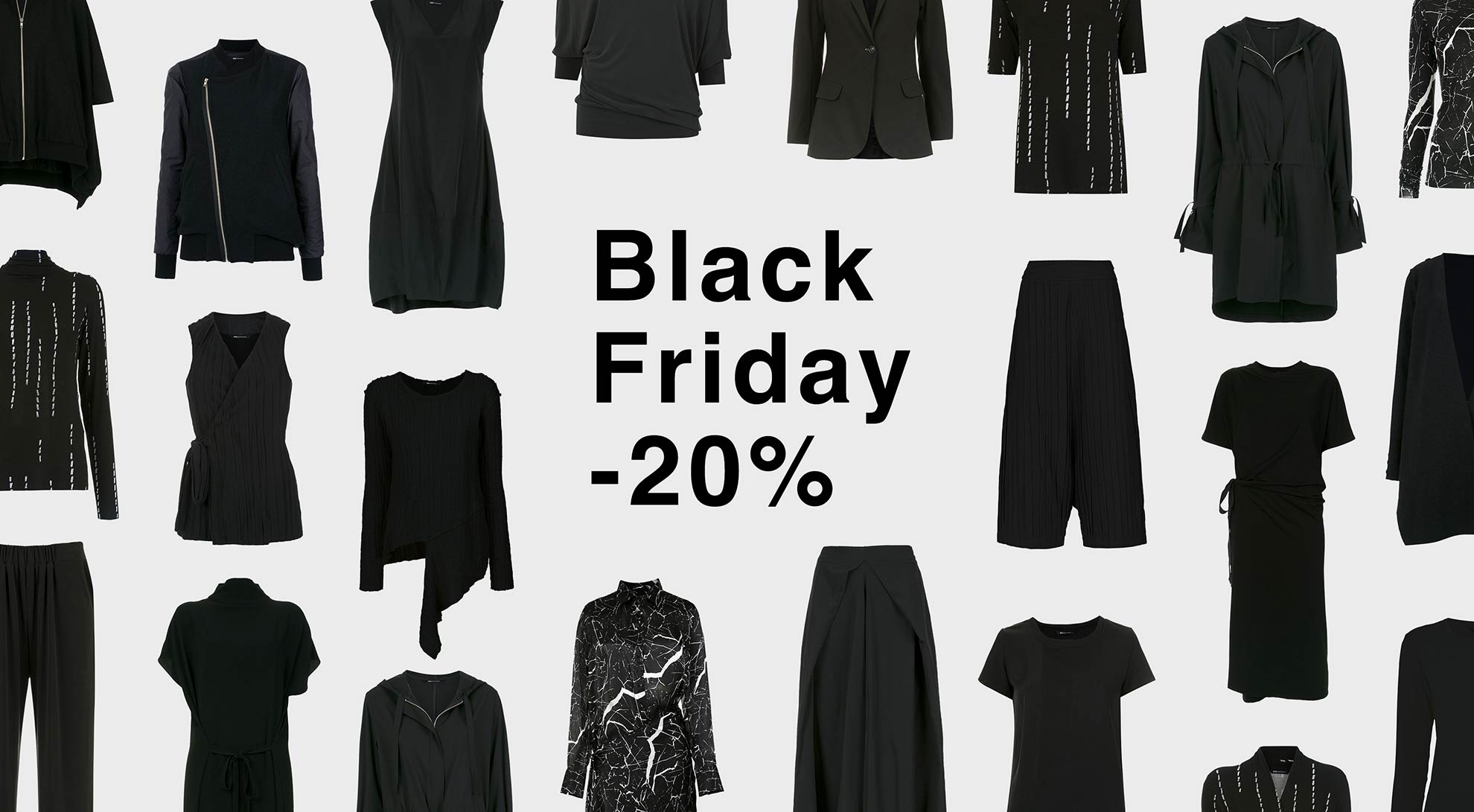 BLACK FRIDAY 20%OFF