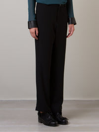 Loose Crepe Pants | Cometa