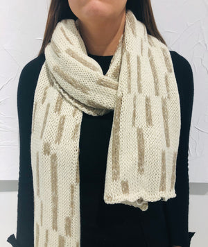 Double Face Knitted Scarf | Vietna