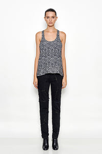 Sleveless Printed Top | Meridian