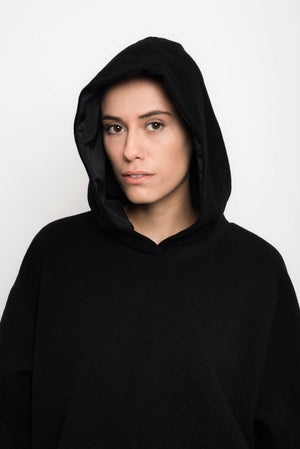 Wool Balone Pullover With Hood | Chaska