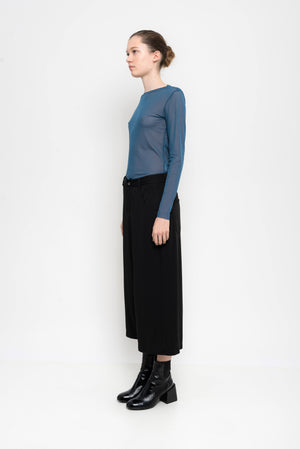 Jersey Drop Crotch Culotte Pants | Atomo