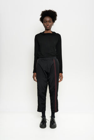 Stripped Nylon Tailored Pants | Manta