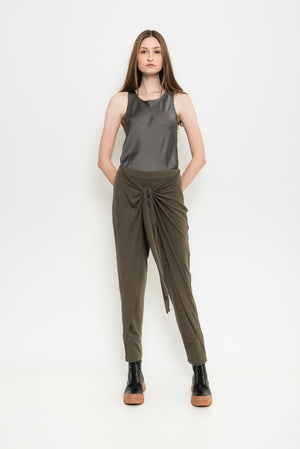Lounge Overlapping Pants | Mecca