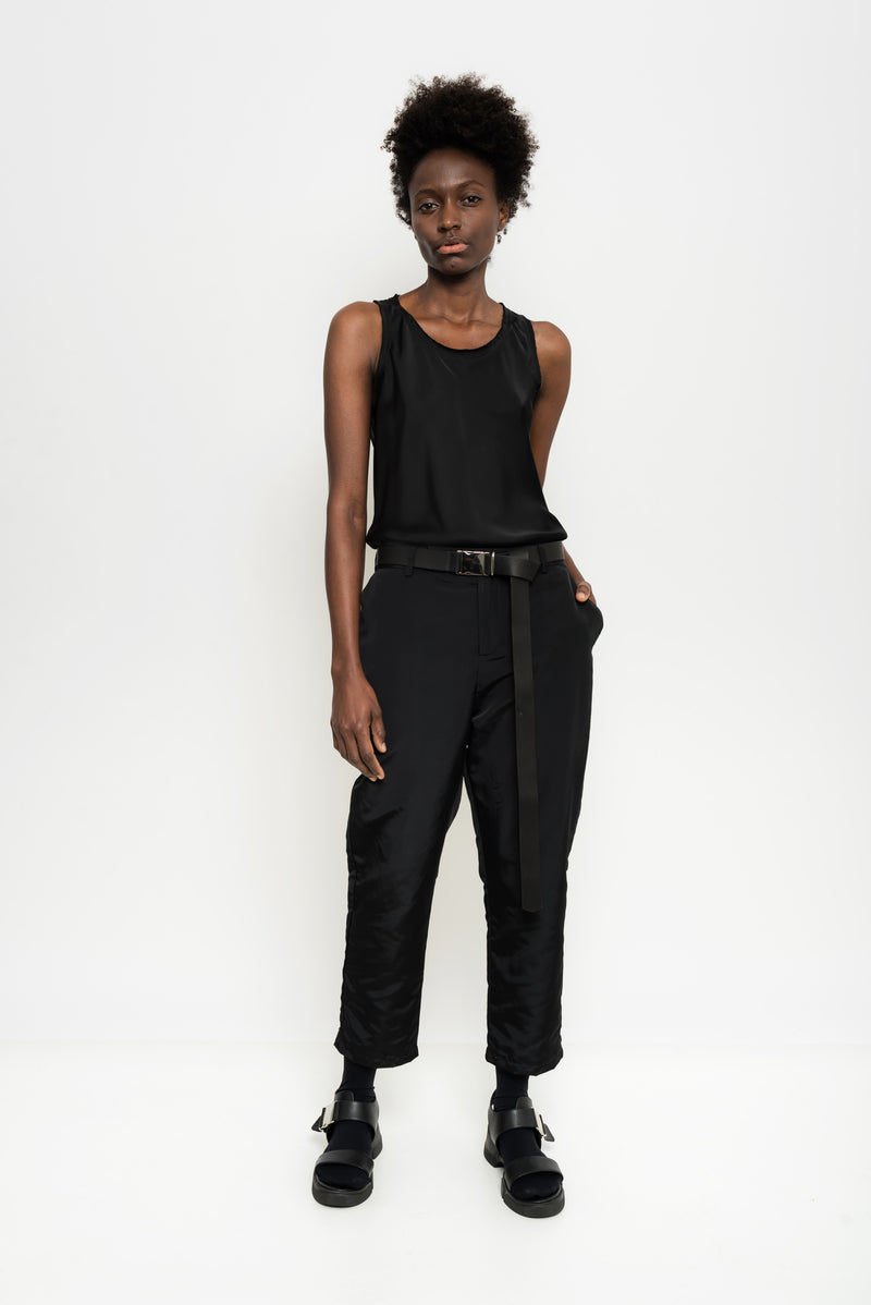 Nylon Tailored Pants | Minsk