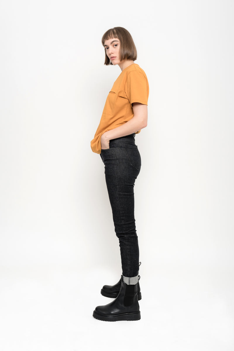 Skinny Eco Denim Pants | Amianto