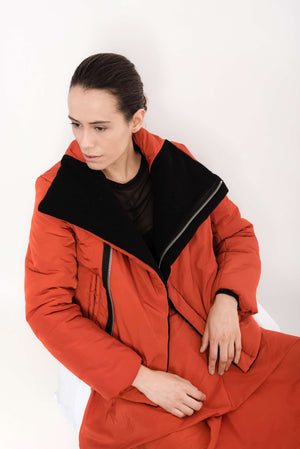Quilted Nylon Jacket | Domino