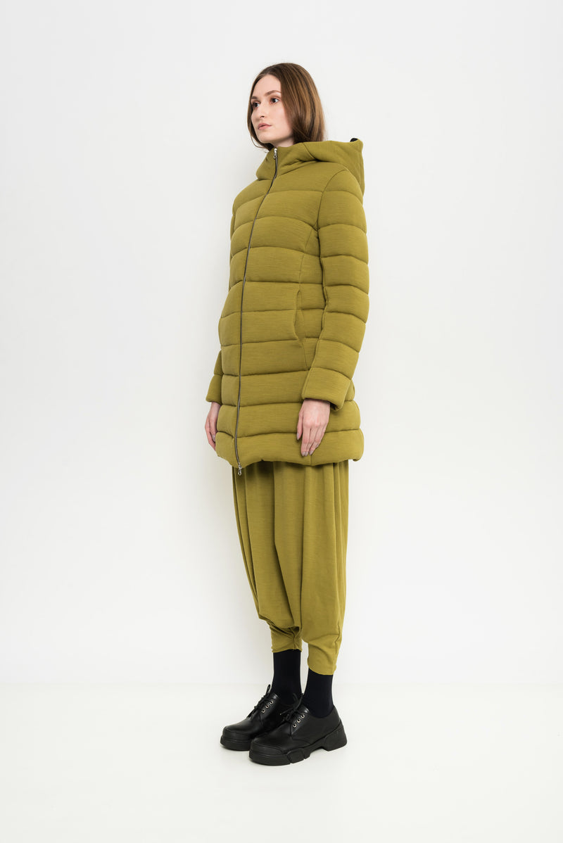 Padded Quilted Coat | Andorra
