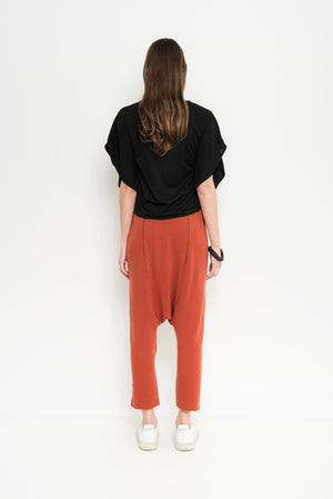 Cropped Drop Crotch Pants | Atari