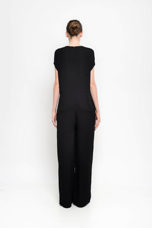 Tailored Jumpsuit With Japanese Sleeves | Galax