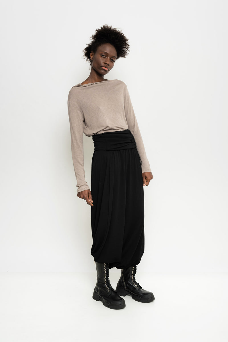 Wool Stretch Culottes | Georgia