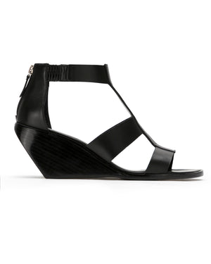 gladiator demi wedge leather sandals | park