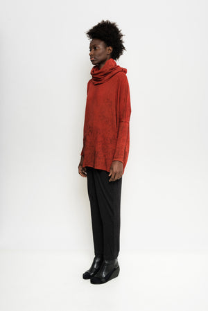 Oversized Turtleneck Tinted Sweater | Akita