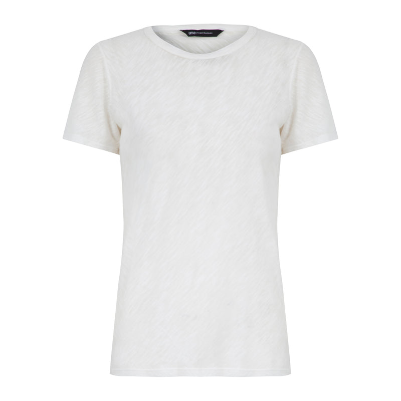 Bias-Cut Short Sleeve T-Shirt | Cabo