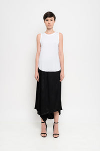 Sleeveless Basic Viscise Voil Top | Carol