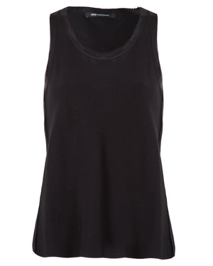 Sleeveless Crepe Top | City
