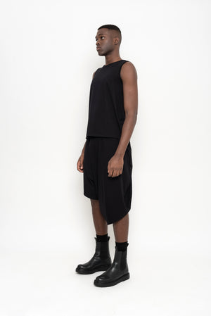 Organic Cotton Asymmetric Culottes | Bloco