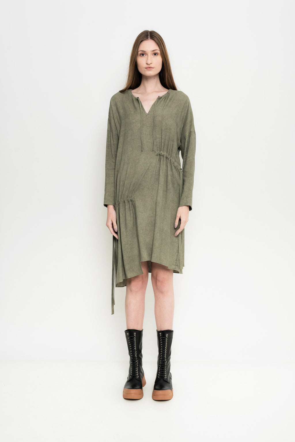Tinted Long Sleeve Dress | Bristol