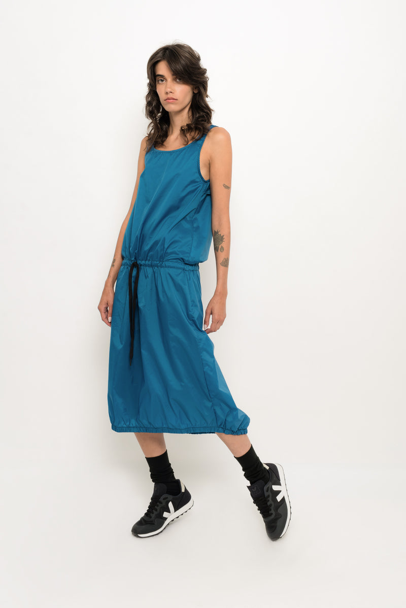 Sleeveless Renylon Dress | Gancho