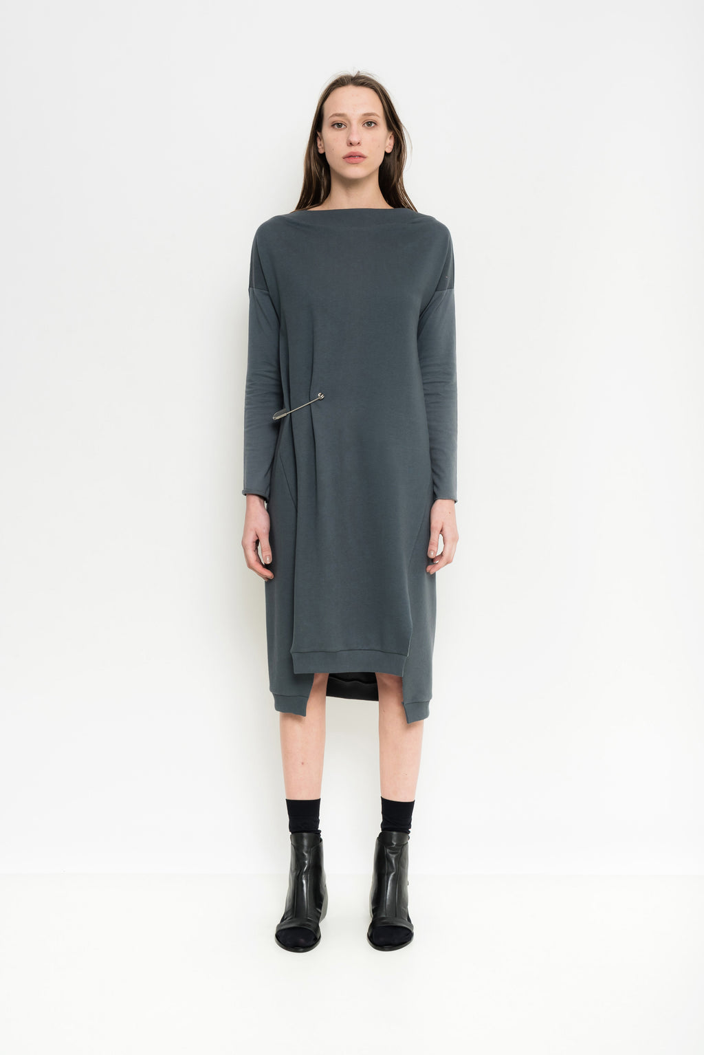 Organic Cotton Sweater Dress | Brunei