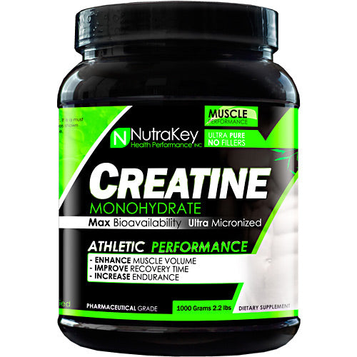 NutraKey Creatine, 1000 grams