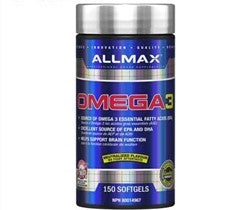 Allmax OMEGA 3 (Ultra-Pure Cold-Water Fish Oil), 180 Softgels (10884262787)