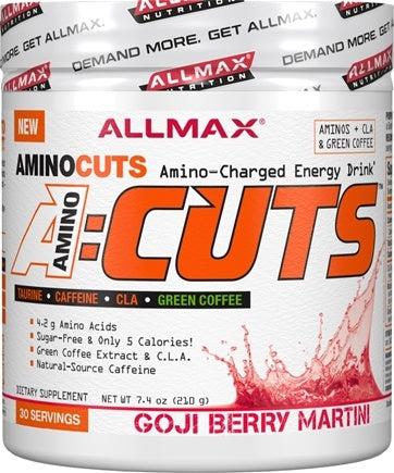 Allmax AMINO CUTS, (Bonus Size) 36 Servings