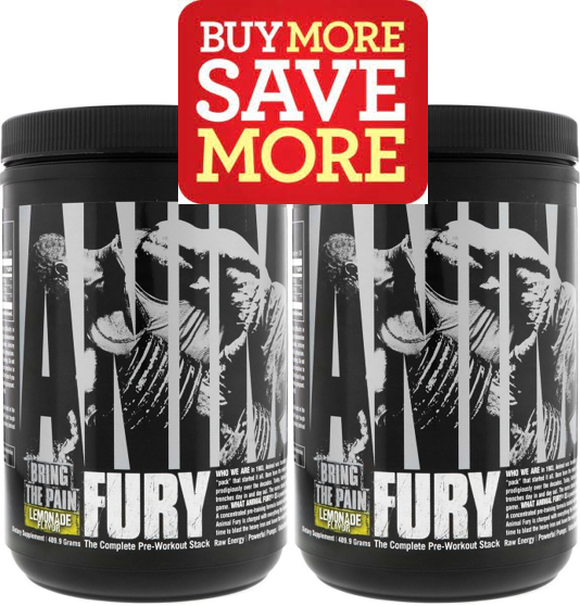 Animal / Universal Nutrition Fury, 60 Servings (New Lower Price)
