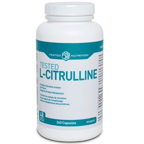 Tested Nutrition L-Citrulline, 240 Caps