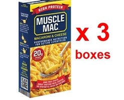 Muscle Mac Macaroni & Cheese. 191g x 3