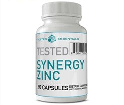 Tested Nutrition Synergy Zinc, 90 caps
